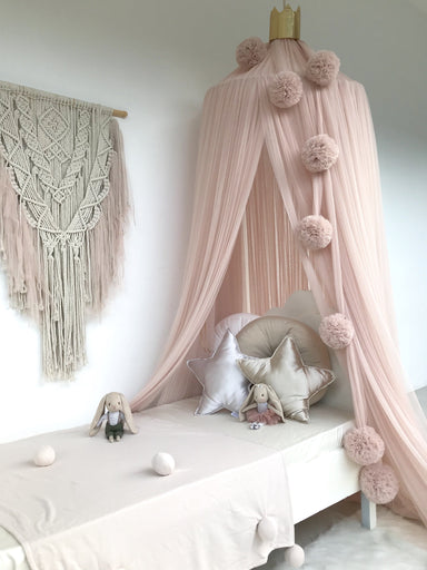 LOVE THIS! Spinkie Pom Garland in BLUSH from Spinkie - shop at littlewhimsy NZ