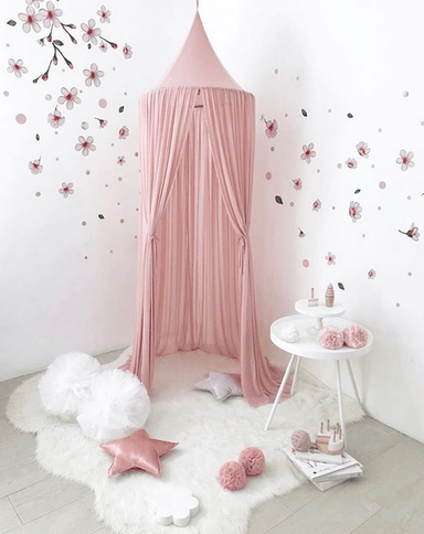 LOVE THIS! Spinkie Sheer Canopy In DUSTY PINK from Spinkie - shop at littlewhimsy NZ