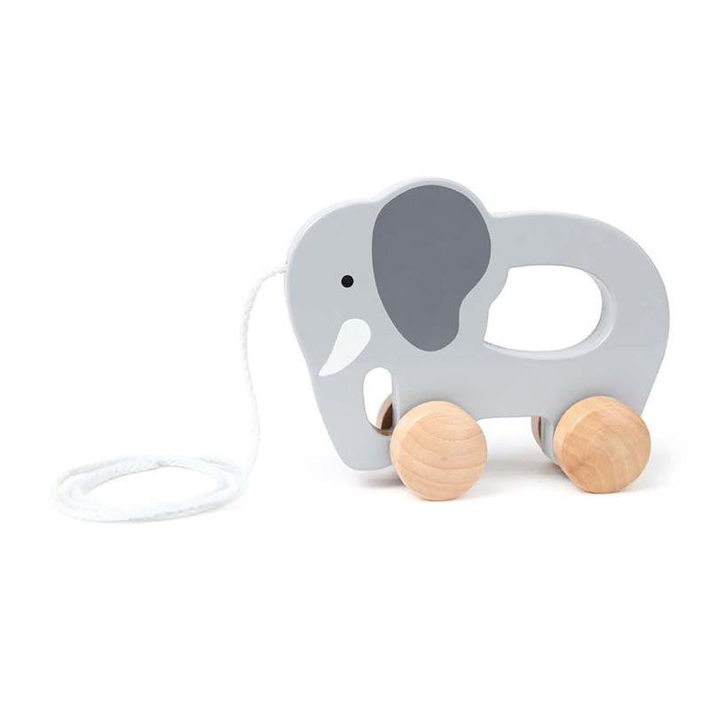 Hape Push + Pull Elephant - little whimsy - 1