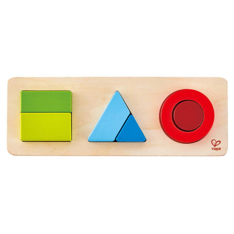 LOVE THIS! Geometry Puzzle from Hape - shop at littlewhimsy NZ