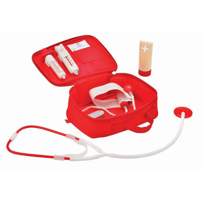 LOVE THIS! Hape Doctor on Call Set from Hape - shop at littlewhimsy NZ