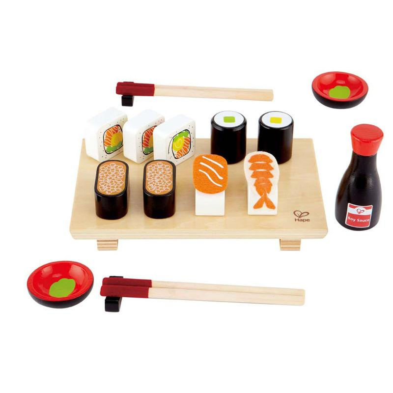 LOVE THIS! Hape Sushi Selection from Hape - shop at littlewhimsy NZ