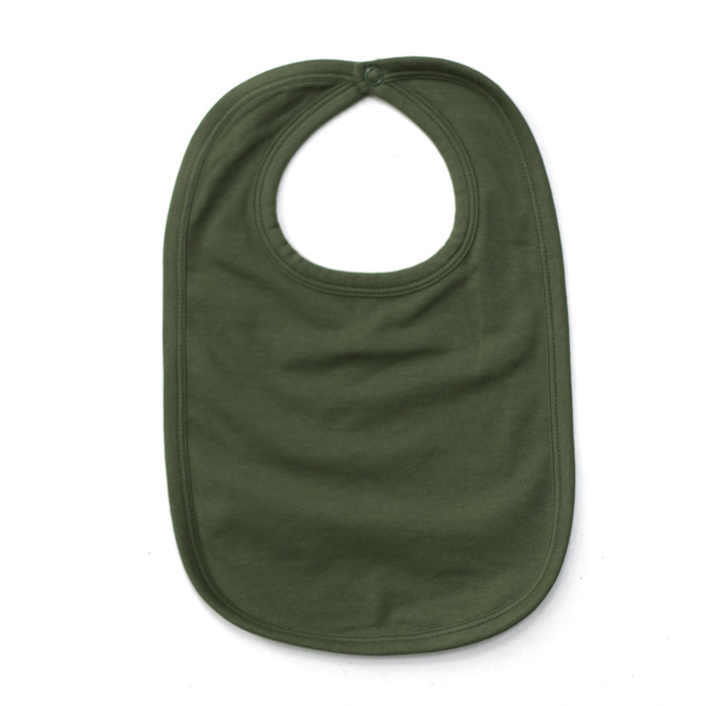 LOVE THIS! Essentials Bib - Pine from Burrow & Be - shop at littlewhimsy NZ