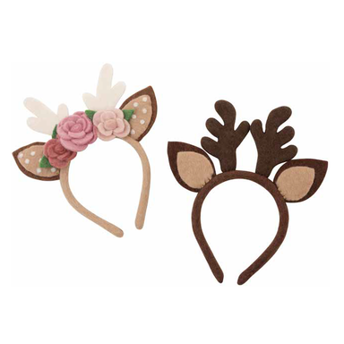 Reindeer Ears - Handmade with Felt