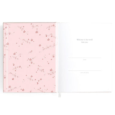 LOVE THIS! Baby Book Blush Pink from Fox & Fallow - shop at littlewhimsy NZ