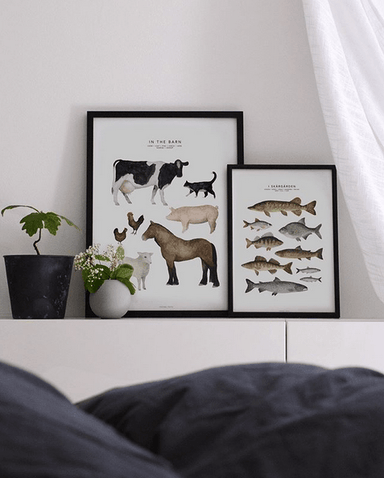 LOVE THIS! Fashionell In the Barn Poster from Fashionell - shop at littlewhimsy NZ
