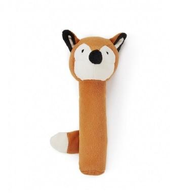 LOVE THIS! Felix the Fox Baby Rattle from Nana Huchy - shop at littlewhimsy NZ