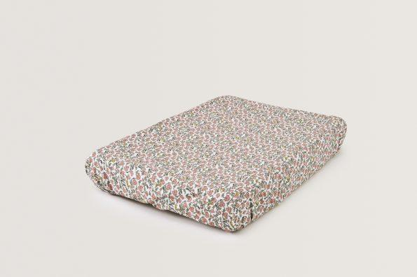 LOVE THIS! Floral Vine Changing Mat Cover from Garbo & Friends - shop at littlewhimsy NZ