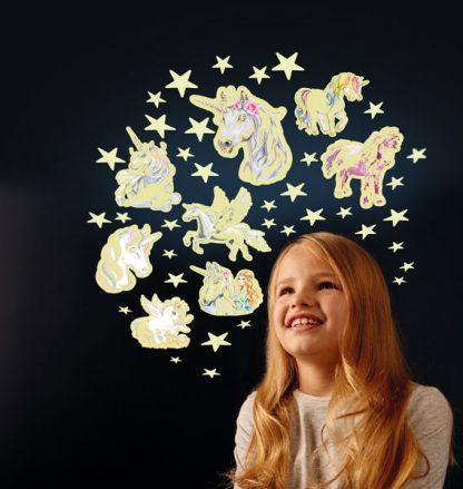 LOVE THIS! Glow Stars and Unicorns from The Original Glowstars - shop at littlewhimsy NZ