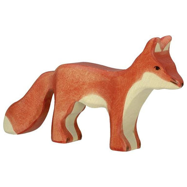 LOVE THIS! Wooden Fox Standing - Holztiger from Holztiger - shop at littlewhimsy NZ