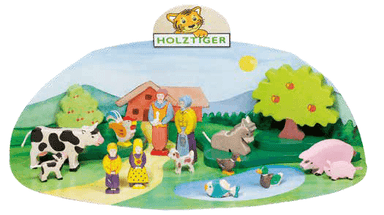 LOVE THIS! Wooden Donkey - Holztiger from Holztiger - shop at littlewhimsy NZ