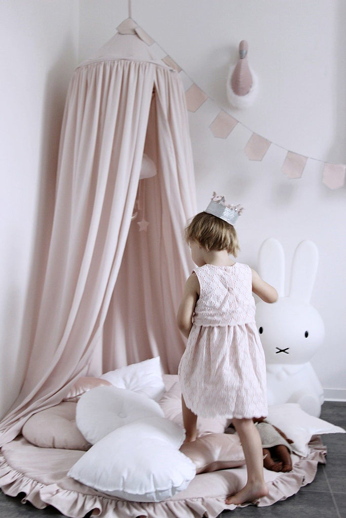 LOVE THIS! Large Playmat Powder Pink from Cotton & Sweets - shop at littlewhimsy NZ
