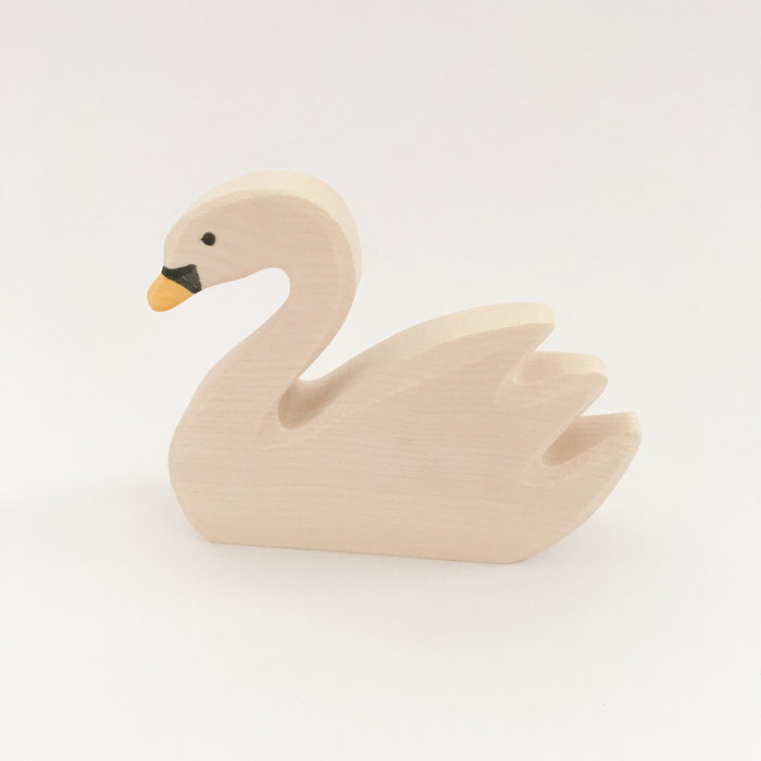 LOVE THIS! Wooden Swan - Holztiger from Holztiger - shop at littlewhimsy NZ