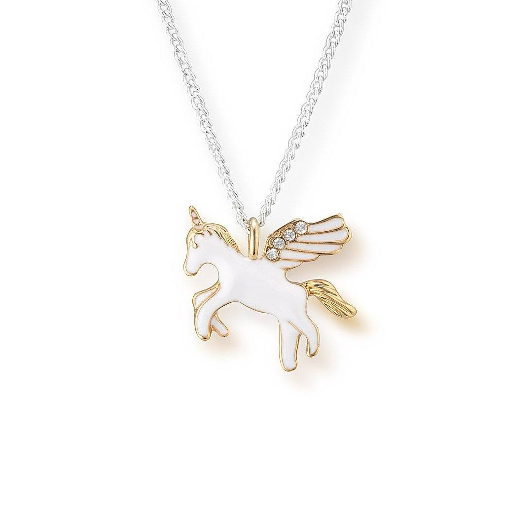 Lauren Hinkley Girls' Gold Unicorn Necklace
