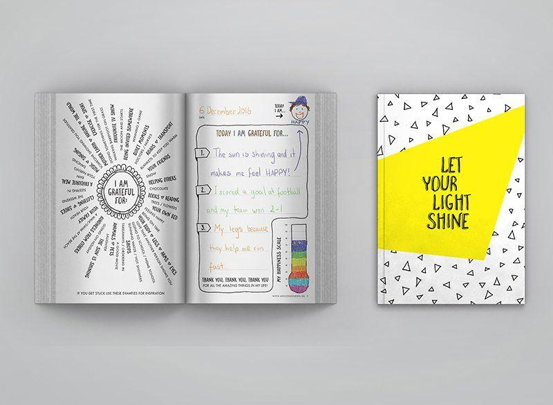 LOVE THIS! Let Your Light Shine Kids Mini Gratitude Journal from Awesome Inc - shop at littlewhimsy NZ