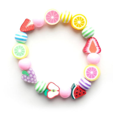 LOVE THIS! Lauren Hinkley Colourful Elastic Bracelet - Fruit Rainbow from Lauren Hinkley - shop at littlewhimsy NZ