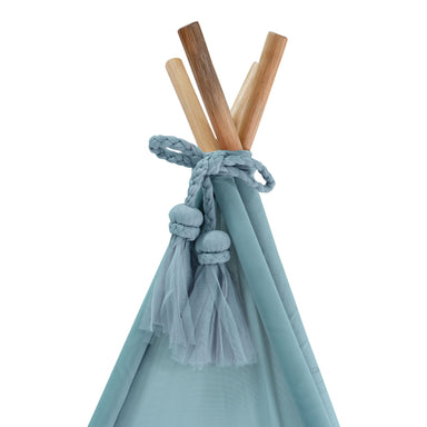 Spinkie Teepee in Minty Blue Sheer