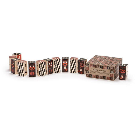 Uncle Goose - Maori Alphabet Blocks - little whimsy - 1