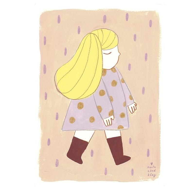 LOVE THIS! Marta Abad Blay Mia Print from Marta Abad Blay - shop at littlewhimsy NZ