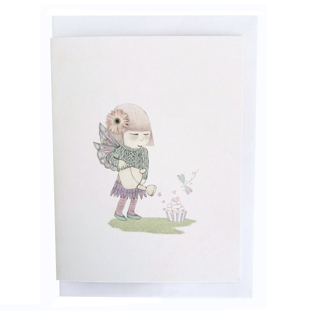 LOVE THIS! My Wee Fairy Door Greeting Card from My Wee Fairy Door - shop at littlewhimsy NZ