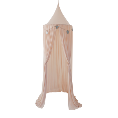 Spinkie Sheer Canopy In NUDE+ Star Garland