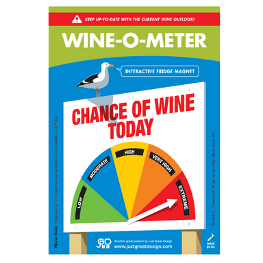O Meter Fridge Magnet Wine – Made in New Zealand