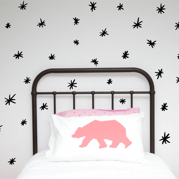 LOVE THIS! Wall Decals - Asterix - Hand Painted from 100 Percent Heart - shop at littlewhimsy NZ