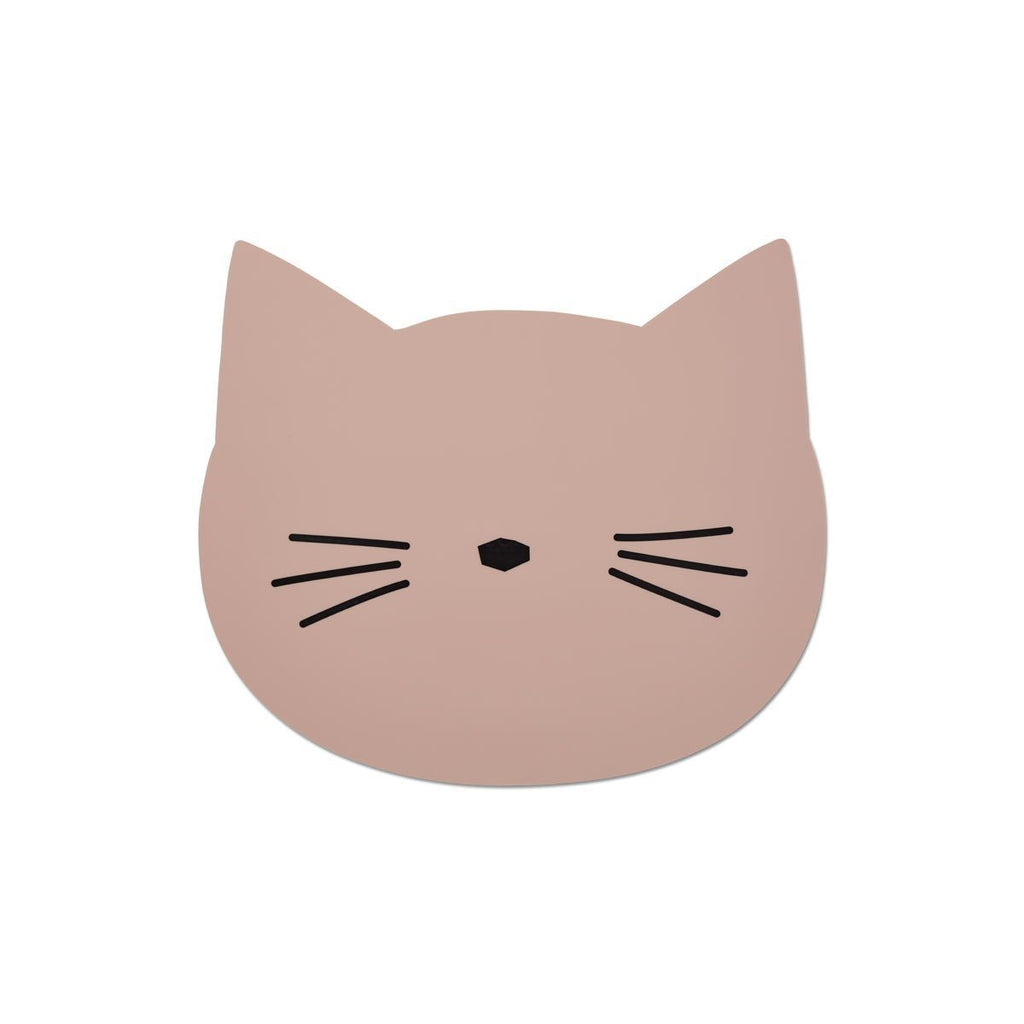 LOVE THIS! Liewood Aura Placemat - Cat Rose from Liewood - shop at littlewhimsy NZ