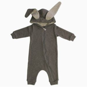Rabbit Suit by Lala - Grey from LaLa - shop at littlewhimsy NZ