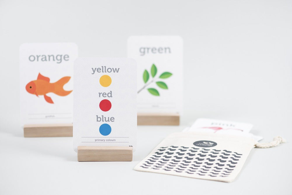 LOVE THIS! Flash Cards - Shapes + Colours from Two Little Ducklings - shop at littlewhimsy NZ
