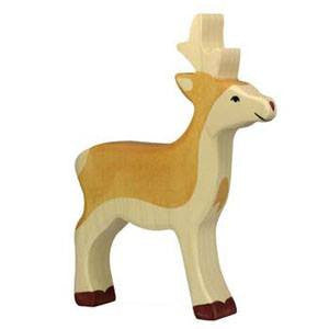 LOVE THIS! Wooden Deer - Holztiger from Holztiger - shop at littlewhimsy NZ