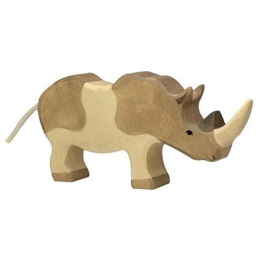 LOVE THIS! Wooden Rhino - Holztiger from Holztiger - shop at littlewhimsy NZ