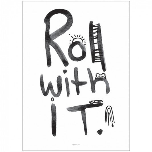 Pax & Hart Roll with It Poster - little whimsy - 1