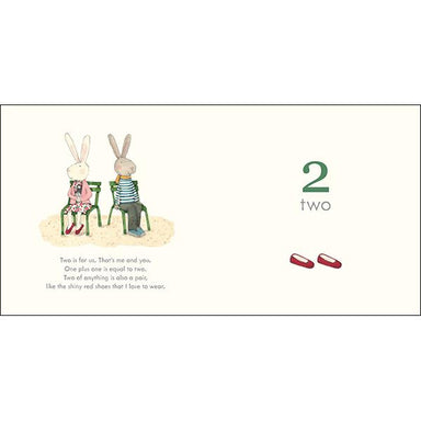 LOVE THIS! Learn with Ruby Red Shoes: Counting Book from Harper Collins - shop at littlewhimsy NZ