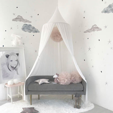 LOVE THIS! Spinkie Sheer Canopy In CLOUD from Spinkie - shop at littlewhimsy NZ