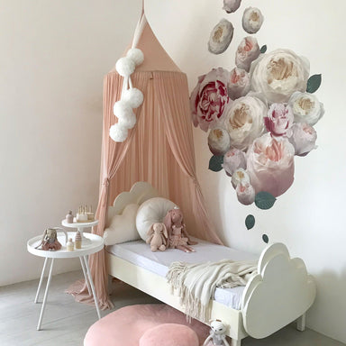 LOVE THIS! Spinkie Sheer Canopy In NUDE from Spinkie - shop at littlewhimsy NZ