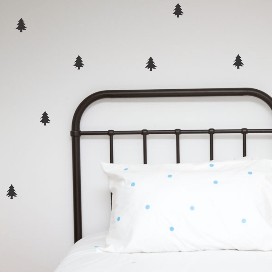 LOVE THIS! Wall Decals - Small Trees from 100 Percent Heart - shop at littlewhimsy NZ