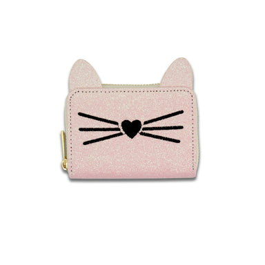 Minista | Patch Kitty Wallet PINK
