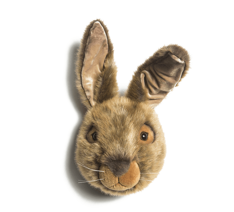LOVE THIS! Lewis the Hare - Wild & Soft Animal Head Large from Wild & Soft - shop at littlewhimsy NZ