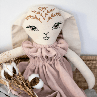 LOVE THIS! Bunny Doll Willow from Burrow & Be - shop at littlewhimsy NZ
