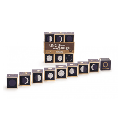 LOVE THIS! Uncle Goose - Moon Phase Blocks from Uncle Goose - shop at littlewhimsy NZ