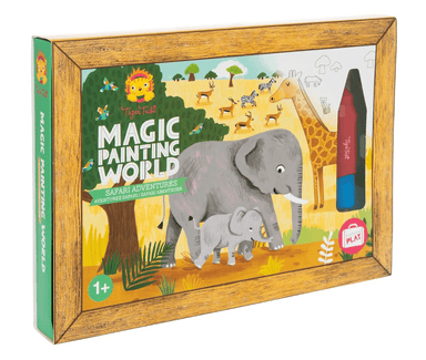 LOVE THIS! Magic Painting World - Safari Adventures from Tiger Tribe - shop at littlewhimsy NZ