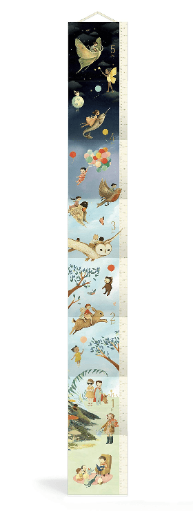 LOVE THIS! The Wonderful Things You Will Be Growth Chart from Penguin Books - shop at littlewhimsy NZ