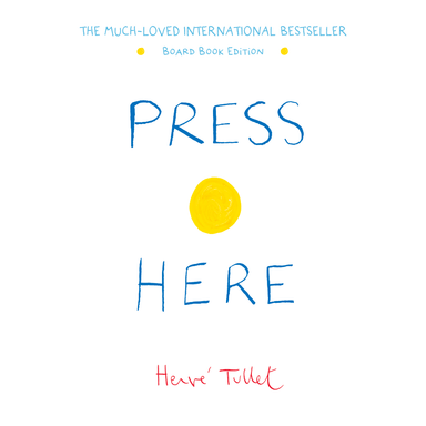 LOVE THIS! Press Here - Board Book Edition from Penguin Books - shop at littlewhimsy NZ