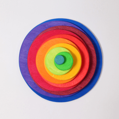 LOVE THIS! Grimm's Concentric Circles and Rings from Grimm's - shop at littlewhimsy NZ