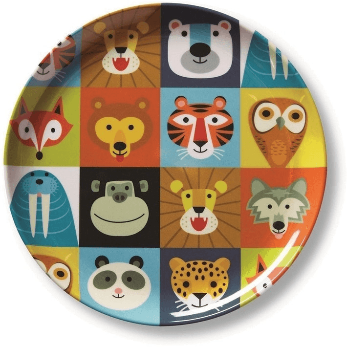 LOVE THIS! Crocodile Creek: Jungle Jamboree Plate from Crocodile Creek - shop at littlewhimsy NZ