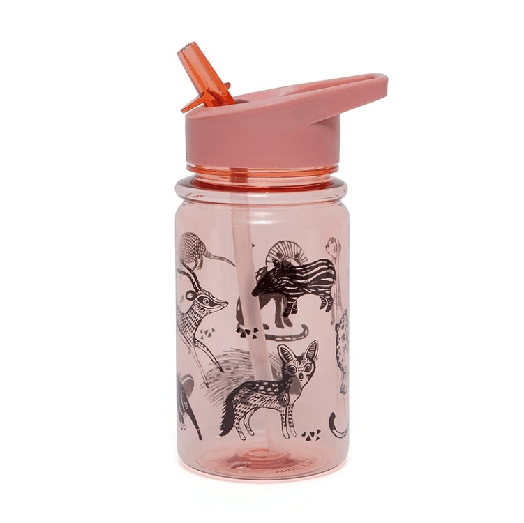 LOVE THIS! Drink Bottle Animals from Petit Monkey - shop at littlewhimsy NZ