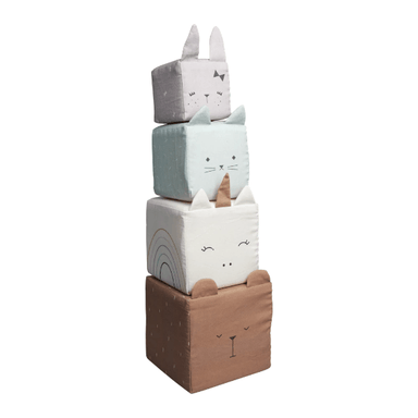 LOVE THIS! Fabelab Soft Blocks Animals from Fabelab - shop at littlewhimsy NZ
