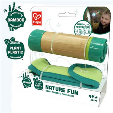 Hape Hand-Powered Flashlight DUE BACK IN STORE IN FEB