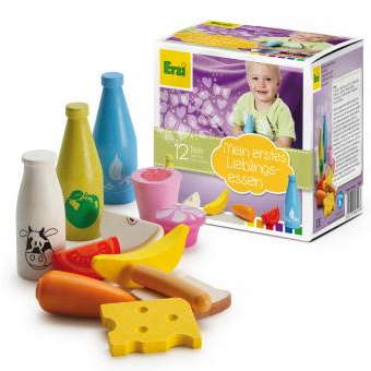 Wooden Food Shop Assortment for the Youngest